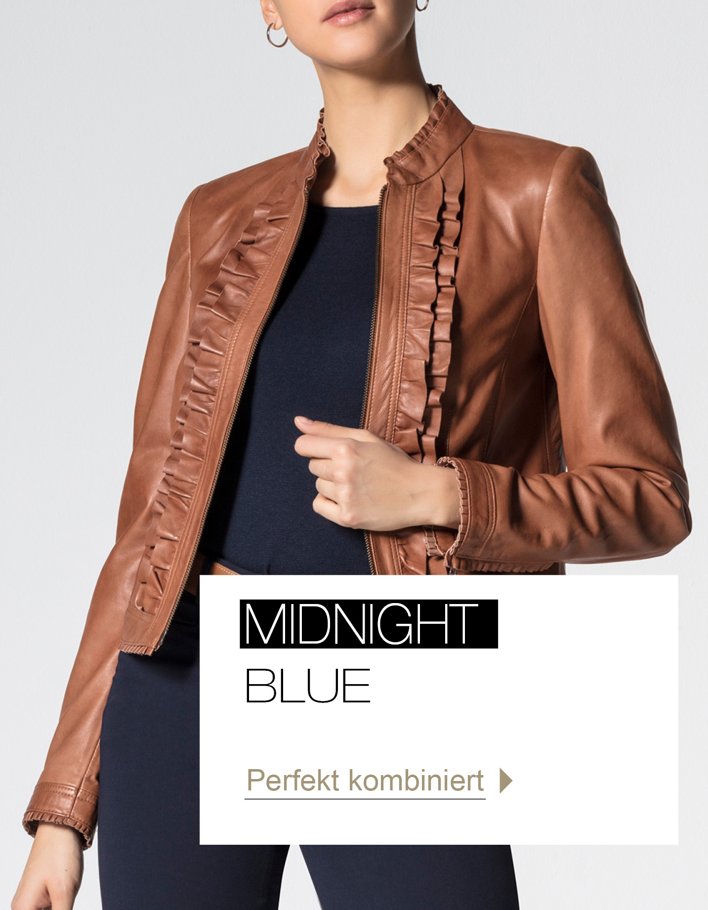 Midnight Blue - perfekt kombiniert